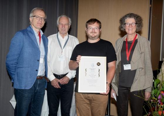 Rune Haugseng, Viggo Brun Prize Laureate 2018. Photo